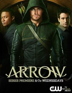 Arrow--Based on DC Comics, Green Arrow. After being marooned for 5 years on a remote island, billionaire Oliver Queen returns home with a mysterious agenda & a lethal set of new skills that he uses in a war on crime. After suffering unimaginable ordeals on the island, Oliver returns to Starling City a new man, determined to right the wrongs of his father and sworn to bring justice to those who've corrupted his city.