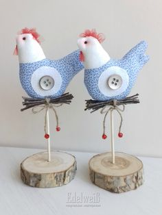 1 million+ Stunning Free Images to Use Anywhere Rustic Crafts, Handmade Crafts, Diy And Crafts, Arts And Crafts, Fabric Toys, Fabric Birds, Fabric Crafts, Spring Projects, Spring Crafts