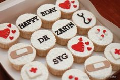 Doctor Day Cupcakes