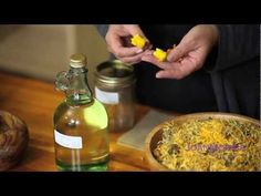 ▶ How To Make Infused Herbal Oil: Calendula Oil - Episode 1 - YouTube