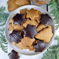 Pierniczki | AniaGotuje.pl Gingerbread Cake, Spice Cookies, Christmas Cooking, Cannoli, Pavlova, Truffles, Biscuits, Spices, Cooking Recipes