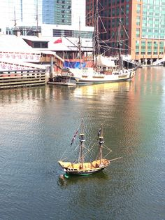 This decorated dory looks as if it wants to grow up to be like one of the famous ships. bostonteapartyship.com