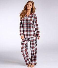 Lake House Flannel Pajama Set Lauren by Ralph Lauren.  50.99 Flannel Pajamas 089bb33a2