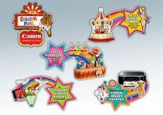 """Campaign // Canon Creative Park: """"Paper Circus"""" on Behance"""