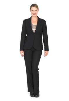 Redhead Office - A Lister Jacket. A beautifully tailored Jacket is the foundation of a great work wardrobe.This gorgeous self check black jacket that is a timeless piece. Lined in fabulous novelty print, it is classic suiting with a twist.