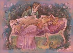 Sleeping Beauty by WillowWaves.deviantart.com