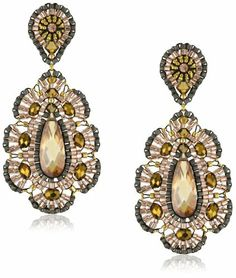Miguel Ases Bronze Rondelle Embroidered Tear Drop Earrings Miguel Ases. $270.00. Handcrafted in the United States. Miguel Ases provides its customers with a lifetime repair guarantee at no additional cost. Store in the provided suede pouch in a dry place. Made in United States