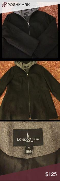 Men's Coat Men's wool coat! In excellent condition! London Fog Jackets & Coats
