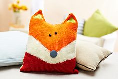 Free Oliver Fox pattern by Amanda Berry on Ravelry.