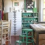 25 Creative Workspace Ideas - Inspiration for designing a creative home office, studio or craft room. Home Art Studios, Art Studio At Home, Craft Studios, Craft Room Storage, Room Organization, Craft Rooms, Storage Ideas, Paper Storage, Office Storage