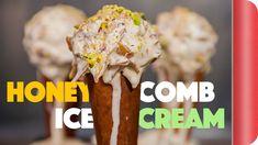 Mind Blowing Honeycomb Ice Cream - YouTube