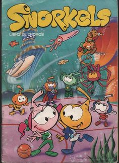 cartoons nostalgia created by Nic Broca produced by Hanna Barbera (sister series to Smurfs) Best 90s Cartoons, Classic Cartoons, Cartoon Tv, Vintage Cartoon, Vintage Toys, Vintage Comics, 90s Childhood, My Childhood Memories, Los Snorkels