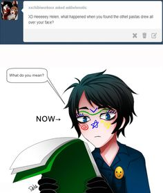 Ask Bloody Painter, The previous comic :You are not alone DeviantART