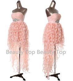 Prom Dress Organza Dress Flouncing Wedding Dress by BeautyTop, $139.00