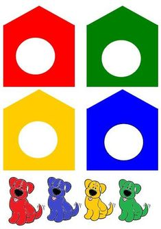 car color match for toddlers and preschool Preschool Learning Activities, Color Activities, Preschool Worksheets, Preschool Activities, Teaching Kids, Kids Learning, Preschool Colors, Preschool Centers, Learning Colors
