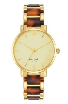 kate spade new york 'gramercy' watch