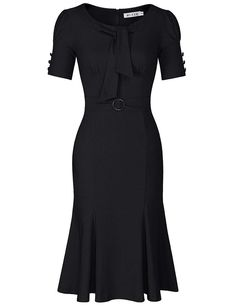 Looking for the perfect Juese True Retro Look Women's Formal Or Casual Party Pencil Dress (Xl, Blue)? Please click and view this most popular Juese True Retro Look Women's Formal Or Casual Party Pencil Dress (Xl, Blue). Plus Size Maxi Dresses, Short Sleeve Dresses, Dresses For Work, Vintage Pencil Dress, Pencil Dresses, Very Short Dress, Art Deco Dress, Fishtail Dress, Cosplay Dress