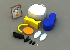 Cartoon Particles - The Rainbowmonkey