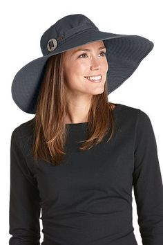 cde035e3ff644 Wide Brim Cotton Sun Hat  Sun Protective Clothing - Coolibar