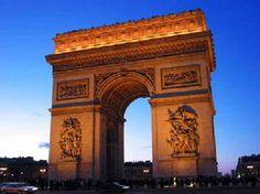Paris and it's 7 Charms--Arc de Triomphe