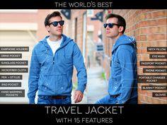 Miniature de la vidéo du projet The World's Best TRAVEL JACKET with 15 Features || BAUBAX