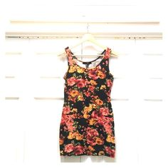 Pretty floral tunic dress. XX1 line. Tunic it dress.  Very pretty print. Great layering piece. Forever 21 Tops Tunics