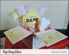Tutorial: Baby Pop Up Box Card