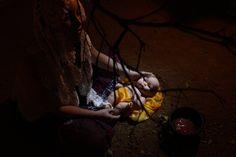 """Hunger creates illusions"" por Claudio Kaneda"