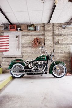 Lucky Green Deluxe #Harley