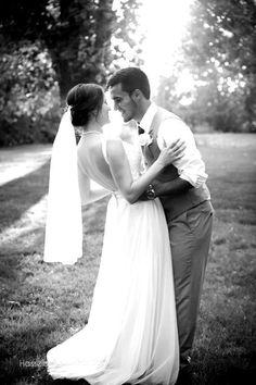 Love this image! Wedding Photography Boise Idaho Black and White Wedding Pictures Wedding pose ideas