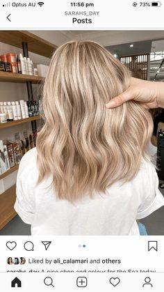 Blonde Hair Shades, Dyed Blonde Hair, Blonde Hair Looks, Blonde Hair With Highlights, Neutral Blonde Hair, Blonde Hair Inspiration, Hair Inspo, Aesthetic Hair, Balayage Hair