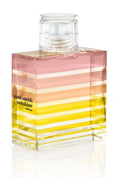 Eau de toilette, Paul Smith Sunshine Edition http://www.vogue.fr/beaute/buzz-du-jour/articles/eau-de-toilette-paul-smith-sunshine-edition/19606