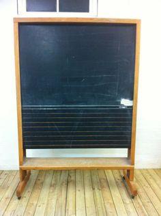 Vintage School Blackboard 1950s -   for 'do it now' lists!