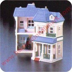 Victorian Home, Nostalgic Houses & Shops Series Hallmark Ornament, 1987