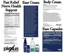 Fast Relief, Ease ingredients www.plexusslim.com/kjwcatalan