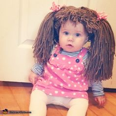 Cabbage Patch Doll - Halloween Costume Contest via @costume_works