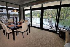 GET 1 NT FREE! Waterfront Home, 1700 Sq Ft w/Wrap Around Deck  Stunning Views