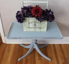 This table is a perfect blue, grey color. Love these legs! Different Light, Gray Color, Blue Grey, Christmas Gifts, Furniture Redo, Table, Victoria, Legs, Shop