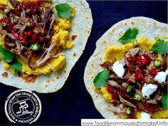 Easy Lamb Wraps Recipe - Food like Amma used to make it Wrap Recipes, Indian Food Recipes, Real Food Recipes, Chicken Recipes, Cooking Recipes, Soft Roti Recipe, Bajan Recipe, Vegetable Curry, Food Intolerance