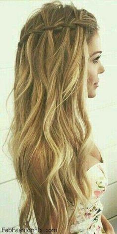 beautiful light curls