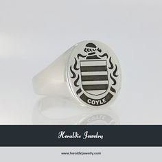 Coyle family crest jewelry
