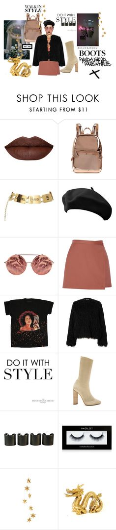 """CHELSEA BOOTS"" by pandatheod ❤ liked on Polyvore featuring American Eagle Outfitters, DKNY, Chanel, Matthew Williamson, Theory, Samsøe & Samsøe, adidas, 8 Other Reasons, Inglot and Livingly"