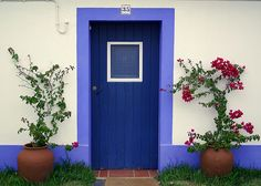 Anyplace that has a door this cool is on the list.  This is in Portugal.