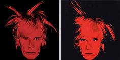 Sandro Miller, Andy Warhol / Self Portrait (Fright Wig) (1986), 2014 Portraits of John Malkovich