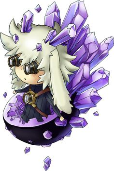 Geomancer Mika 2d Character, Drawing Ideas, Chibi, How To Look Better, Characters, Animation, Anime, Art, Ideas For Drawing