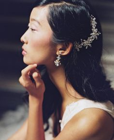 Enchanted Atelier by Liv Hart Fall/Winter 2015 Bridal Accessories Are Vintage and Romantic | TheKnot.com
