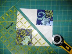 Flying in Squares Quilt « Moda Bake Shop - no waste flying geese