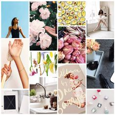 Make a moodboard in under a minute without photoshop maketrays.com #maketrays #flowers
