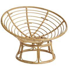 Papasan Natural Chair Frame with Cushion Papasan Cushion, Papasan Chair, Chair Cushions, Swivel Chair, Lounge Furniture, Home Furniture, Luxury Furniture, Outdoor Furniture, Deco Boheme