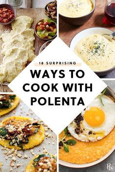 Life Hacks : 17 Surprising Ways to Cook with Polenta Vegetarian Recipes Easy, Cooking Recipes, Cooking Food, Healthy Recipes, Vegetarian Cooking, Easy Cooking, Vegan Polenta Recipes, Budget Cooking, Vegetarian Barbecue